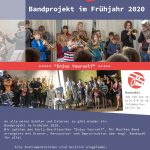 "Musike Berlin - Bandprojekt Frühjahr 2020 ""Enjoy Yourself"""