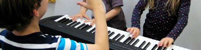 Musike Berlin - Banner Instrumentenkarussell Klavier