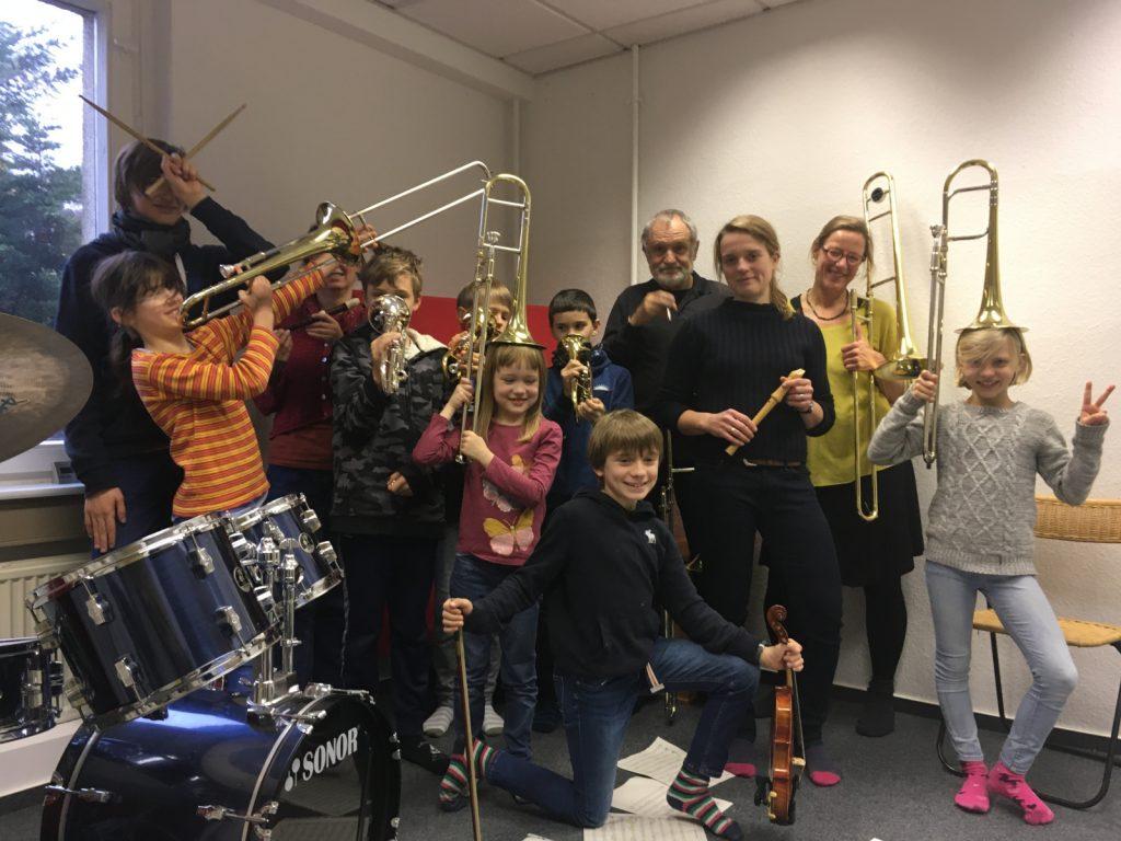 Musike Berlin - Bandprojekt November 2019, Probe