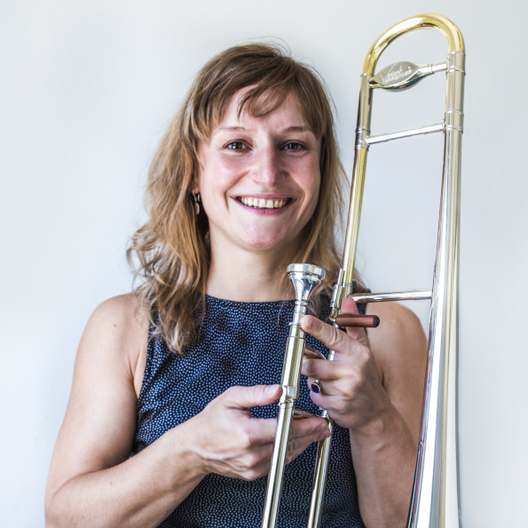 Ulrike Hauptmann, Posaune. Musike Berlin